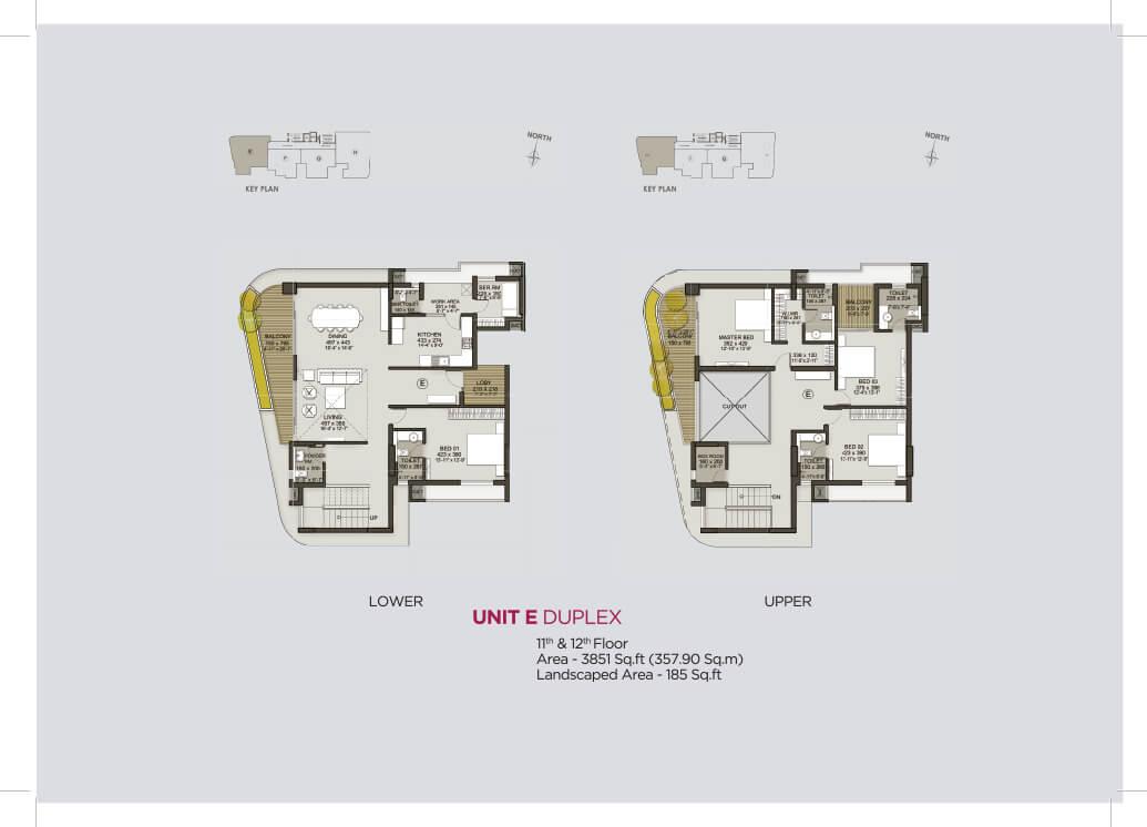 Unit E Duplex (11th & 12th)