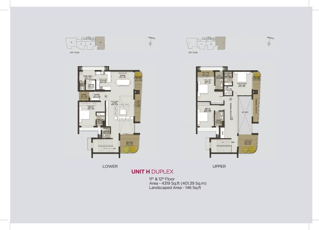 Unit H Duplex (11th & 12th)