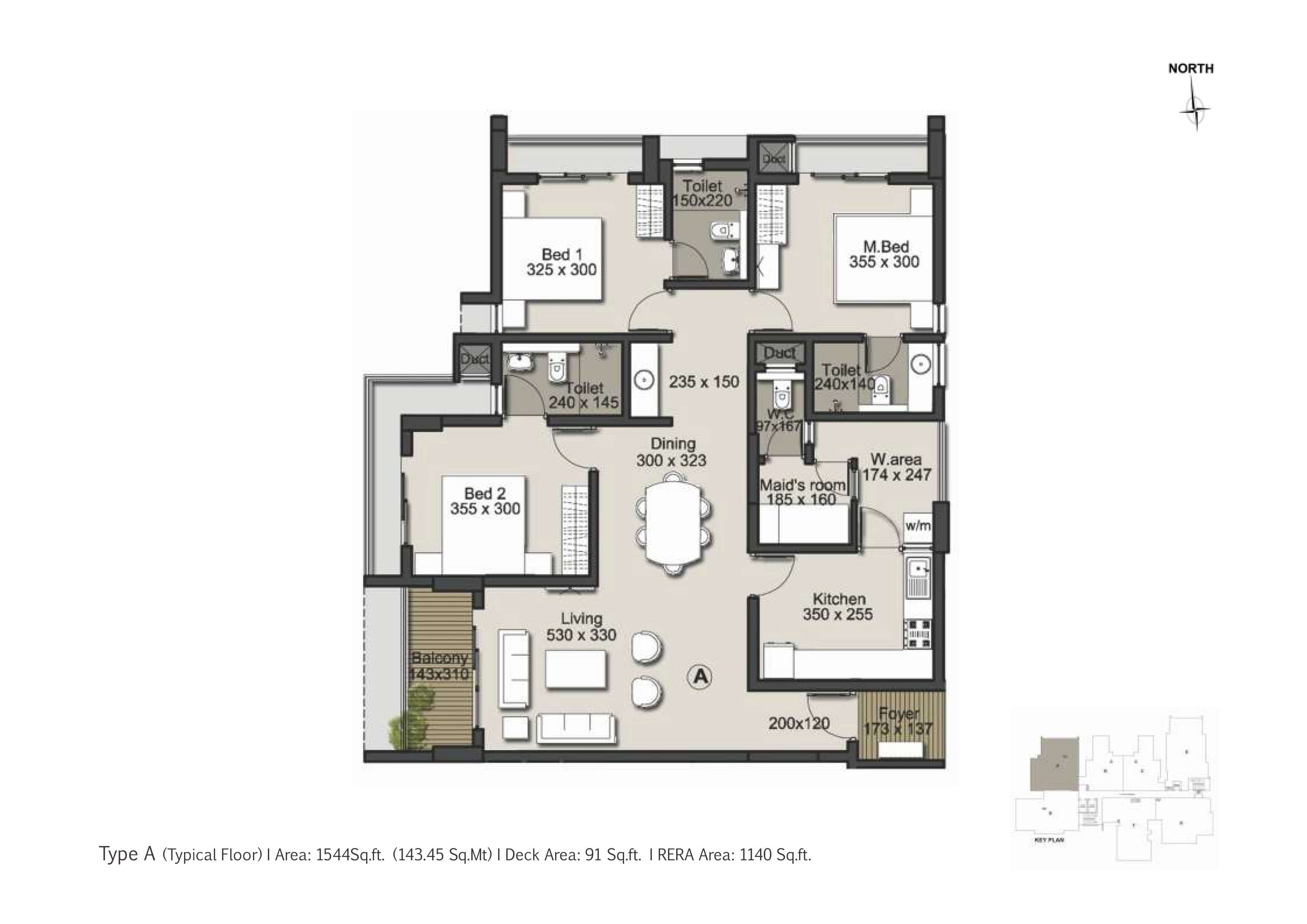 Type A Floor Plan