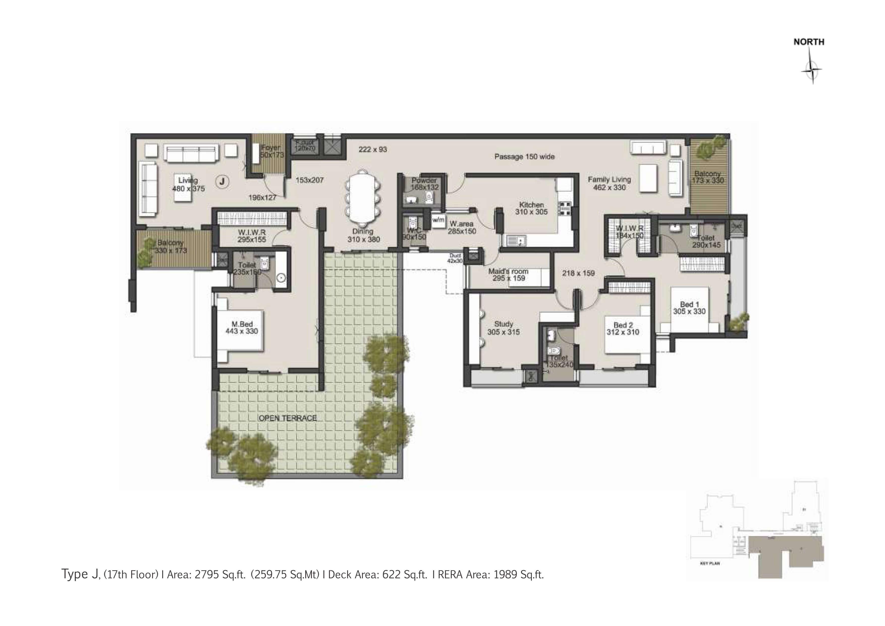 Type J Floor Plan