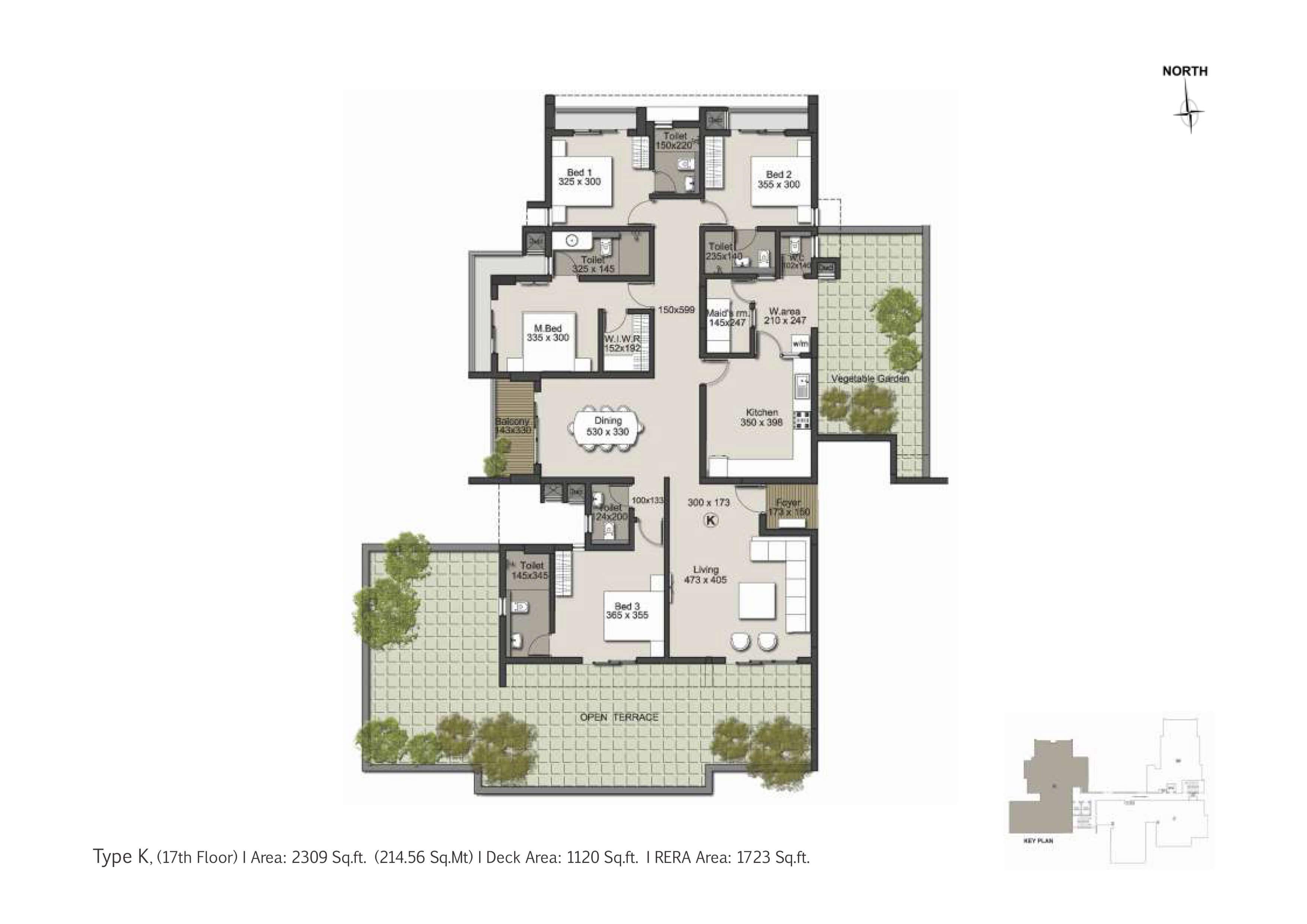 Type K Floor Plan